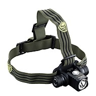 JetBeam Headlamps LED 800 Lumens 4 Mode Cree XM-L2 18650Dimmable / Waterproof / Rechargeable / Impact Resistant / Compact Size / Tactical