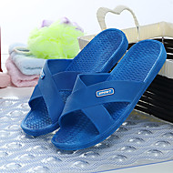 Women's Slippers & Flip-Flops Spring / Summer / Fall Scuff PVC Casual Flat Heel Others Blue / Red