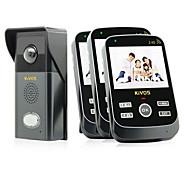 30W 120 CMOS מערכת בפעמון אלחוטי פעמון דלת וידאו multifamily