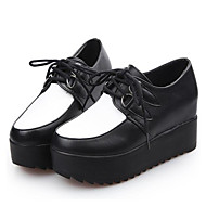 Women's Sneakers Spring / Fall / Winter Creepers Leatherette Outdoor / Casual Platform Lace-up  Others