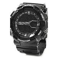 Men's Sport Watch  Military multi-function Watch Quartz Noctilucent  Luminous Rubber Band CasualBlack