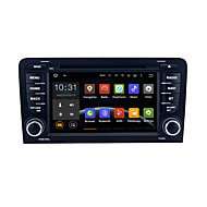 Android 5.1.1 Lollipop for Audi A3 (2003-2013) Audi S3 (2003-2011) 7 Inch Car DVD Stereo Radio WIFI BT Support OBD