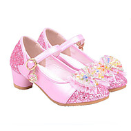 Girls Glass Slipper Princess Crystal Shoes Soft Bottom Dress shoes Leather Princess Shoes Performance shoes Sandal Shoes