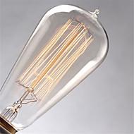 ST64 60W E27 Edison lyspærer incamdescent lampe (AC220-240V)