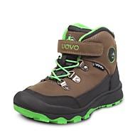 UOVO Boy's Sneakers Winter Comfort PU Outdoor / Casual Flat Heel Gore / Magic Tape Brown Hiking