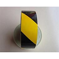 reflekterende materiale 5cm reflekterende tape sorte gule refleks klistremerker reflekterende advarsel rød refleks