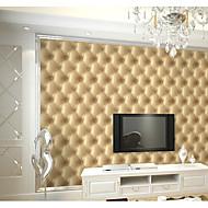 אריג טפט (Damask) / ארט דקו / 3D טפט עבור בית קלאסי וול כיסוי , PVC/Vinyl חוֹמֶר דבק נדרש טפט , Wallcovering חדר