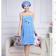 Badehåndklæde Hvid,Solid Høj kvalitet 100% Koral Fleece Håndklæde