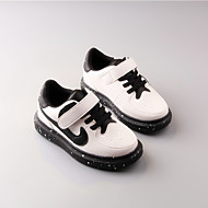 Boy's Sneakers Spring / Fall Flats Rubber Outdoor Flat Heel Others Black / White Sneaker