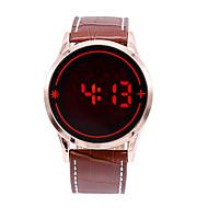Relogio Masculino Men's LED Touch Screen Digital Date Clock Watches Men Sports Watch Wrist Watch Cool Watch Unique Watch