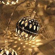 20 בראשות כוכב 2.5m תקע עמיד למי אור אור קישוט חג המולד חיצוני הוביל אור המחרוזת