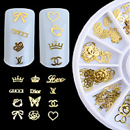 1шт ногтей ювелирные изделия инструмент декоративный поворотный стол для ногтей (стиль случайных)