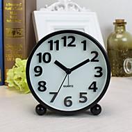 Alarm Clock with Matel Case Modern Style