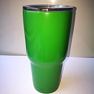 Rambler 30oz Green Stainless Steel Tumbler Insulated Coffice Mug Cup