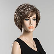 σύντομη φυσική κύμα περούκα ανθρώπινη τρίχα για τις γυναίκες