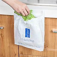 Tek kullanımlık kendinden yapışkanlı araç çöp torbası araç ev için taşınabilir çöp kutusu