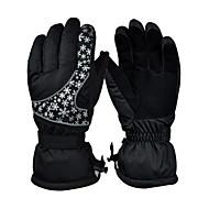 Damen Unisex Skihandschuhe Vollfinger warm halten Sporthandschuhe Ski-Handschuhe Skifahren Winter