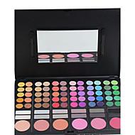 78 Paleta de Sombras Mate / Brilho Paleta da sombra Creme Normal Maquiagem para o Dia A Dia