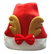 jul ornamenter voksne ordinære jule hatter Santa hatter med gevir for hjem chiristmas fest dekorasjon