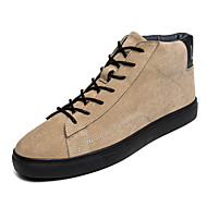 Men's Boots Spring / Fall / Winter Others Leather Casual Lace-up Black / Brown / White Others