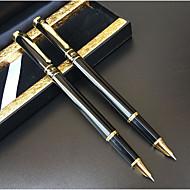 Sharply Bright Black Pen Office Meeting(12PCS)