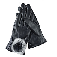 De herfst en winter vrouwen touch-screen fiets leren handschoenen