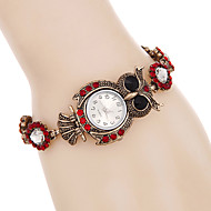 Women Watches Fashion Crystal Owl Bracelet Watch Quartz Digital Watch Relogio Feminino Strap Watch