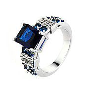 Prstenje Kubični Zirconia Moda / Osobnost Vjenčanje / Party / Dnevno / Kauzalni / Sport Jewelry Legura / Zircon Žene Midi prstenje 1pc,6