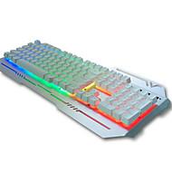 Com Fio Teclado teclado mecânico / teclado Gaming / teclado ergonômico / teclado Multimedia backlight multi cor