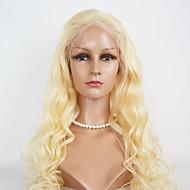 menneskehår blonder parykker kroppen bølge # 613 menneskelig hår blonder parykker blonder foran kjendis for kvinner