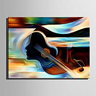 Pintados à mão Abstrato Pessoas Pinturas a óleo,Moderno Estilo Europeu 1 Painel Tela Pintura a Óleo For Decoração para casa