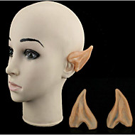 Halloween verkleiden cos elf Ohren Ohren Partei Kunststoff-Modell-Simulation Spielzeug Ball Requisiten 6.5 * 5cm