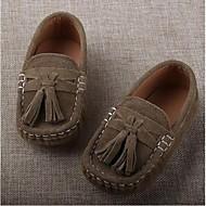 Dla chłopców Mokasyny i pantofle Comfort Zamsz Casual Comfort Dark Blue Khaki Płaski obcas