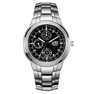 CASIO Watches with Quartz Movement  Waterproof and Pointer Stainless Steel Men's Watch EF-305D-1A