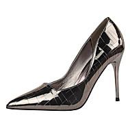 Homme-Habillé-Noir / Rose / Rouge / Blanc / Argent / Or / Champagne / Bronze-Talon Aiguille-Confort-Chaussures à Talons-Similicuir