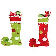 1kpl uusi vuosi laadukkaita hyvää joulua lahjoja Suurella saappaat koristeet joulu sukat joulun käsityöt