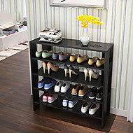 Wood for Shoes Rack & Hanger Others Black / Brown / White / Taupe