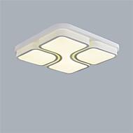24W צמודי תקרה ,  מודרני / חדיש / מסורתי/ קלאסי צביעה מאפיין for LED / סגנון קטן מתכתחדר שינה / חדר אוכל / מטבח / חדר עבודה / משרד / חדר