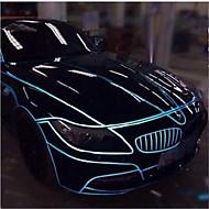aviso carro reflexivas autocolantes decoração luminosa