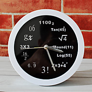 polyteknisk matematiske matematiske ligninger Bord ur pulten vekkerklokke bord klokke kreative hjem dekorative mote mute klokker