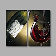 Ručně malované Abstraktní olejomalby,Moderní Tři panely Plátno Hang-malované olejomalba For Home dekorace