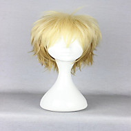 amérique populaire de style 30cm court bouclés lumière jaune perruque cosplay animé Noragami costume perruque Yukine