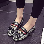 Women's Loafers & Slip-Ons Spring / Summer / Fall / Winter Comfort Canvas Casual Flat Heel Others / Split Joint