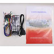 נגן DVD לרכב 2din 6.95 אינץ 'ב-מקף עם BT, FM, ipod, מצלמה viwe RDS + אחורי חופשיות