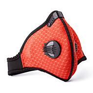 Pollution Protection Mask Bike Breathable / Lightweight Materials / Comfortable Women's / Men's / Unisex Peach Mesh/Net