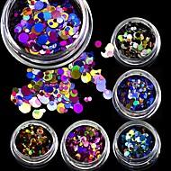 1bottle Nail Art Dekorace drahokamu Pearls make-up Kosmetické Nail Art design