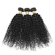 Indian Virgin Human Hair Extensions Weaves kinky curly 100g 8inch-28inch