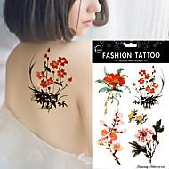 5pcs Tatuajes Adhesivos Otros Non Toxic / WaterproofMujer flash de tatuaje Los tatuajes temporales