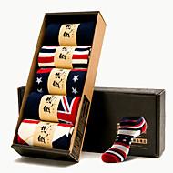pánské ponožky pohlcující pot prodyšné krabice z pěti párů