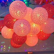 De batterij lichten thailand watje lichten serie gekleurde bal 20 lampvoet 3.5meters